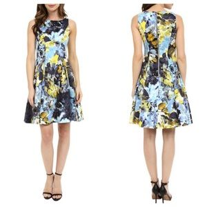 Maggy London Fit and Flare Dress 10 NWT